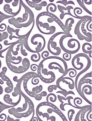 Couture Creations Embossing Folder CONFETTI Sizzix Cuttlebug Cards Card Making