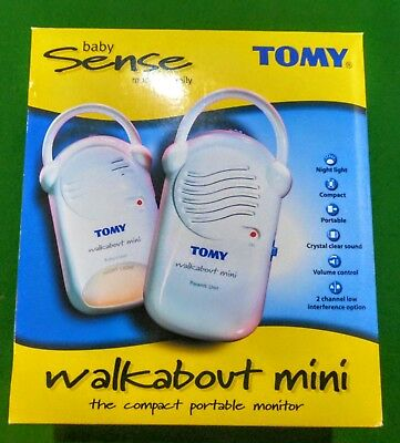 Baby Monitor Tomy Walkabout Mini.Very breifly used, in great condition.