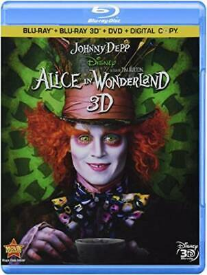 Alice In Wonderland (Four-Disc Combo: Blu-ray 3D / Blu-ray / DVD / Digital Copy)