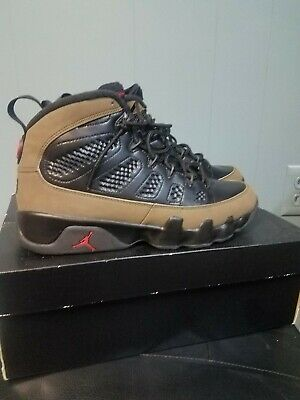 hot sale online 04b76 54c36 Nike Air Jordan 9 IX Retro 2012 Olive Size 8 302370-020 Excellent Condition!