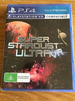 PlayStation 4 PS4 PS VR GAME Super Stardust Ultra VR BRAND NEW FREE POSTAGE