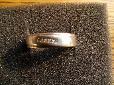"""Ring """"Fossil"""",Silber 925,D18mm."""