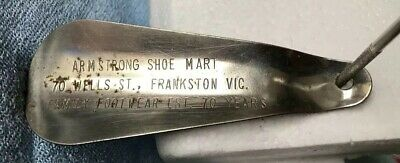 Vintage Armstrong Show Mart Family Footwear Shoehorn 11 Cm Long