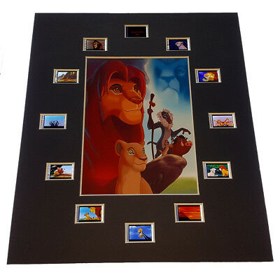 THE LION KING 35mm FILM CELL PRESENTATION - OVAL STYLE - UNFRAMED