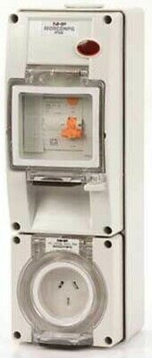 Iso SOCKET WITH RCD 500V 5-Pin Round, Surface Mount, Resistant Orange-10A Or 20A