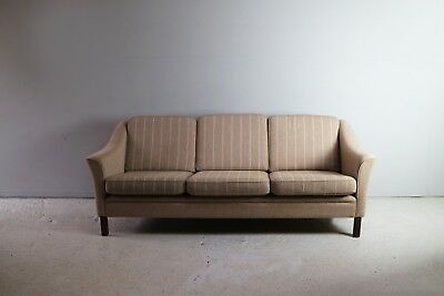 1960's Danish mid century 3 seat sofa with original upholstery