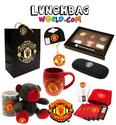 MANCHESTER UNITED GIFTS Official Merchandise Massive Gift Range for any MUFC Fan