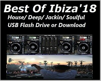 IBIZA 2018 'Best Of House' 12GB Collection -DOWNLOAD TODAY- Deep Tech MP3 DJ