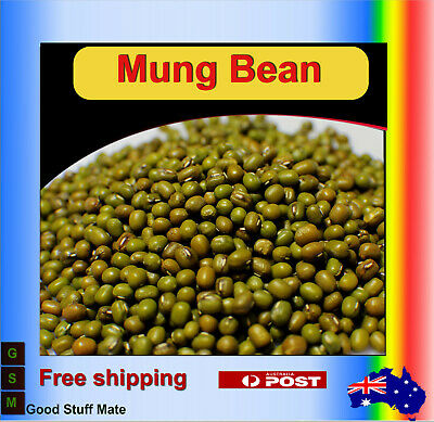 AU SELLER ORGANIC Mung Bean Seeds High Germination Rate Top Quality Sprout Vegg