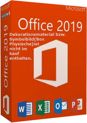 Microsoft Office 2019 Key Für 3 MACs + Updates | Lifetime Kein Abo