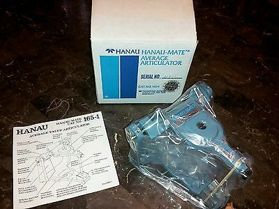 Hanau Dental Lab Articulator for dental students and dentists New in box
