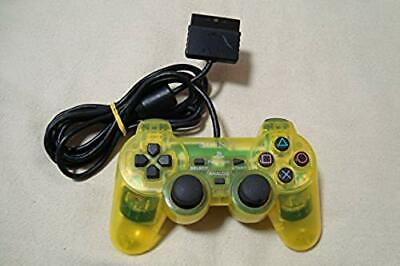 SONY PlayStation 2 PS2 Official Controller DualShock 2 Yellow SCPH-10010 F/S