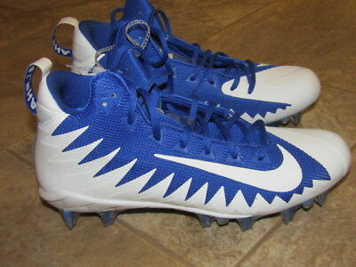 best service 1d895 a03fe Nike Alpha Menace Pro Mid Football Cleats Size 9.5 Game Royal Blue  871451-411