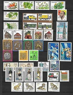 East-Germany/DDR/GDR: All stamps of 1978 in a year set complete, MNH