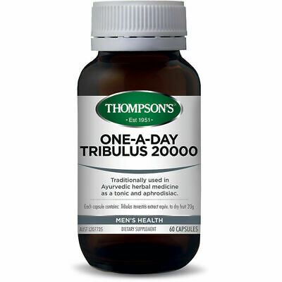 Thompson's One-a-day Tribulus 20000mg 60 Vegi-Caps