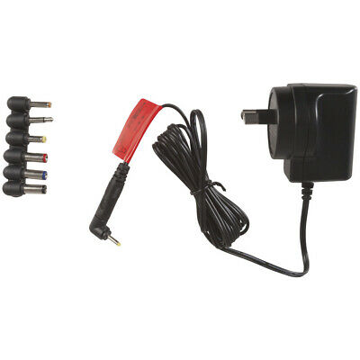 AC 240V to DC 12V 0.4A 400mA Switch Mode Power Supply Adapter 7 Plugs Ultra Slim