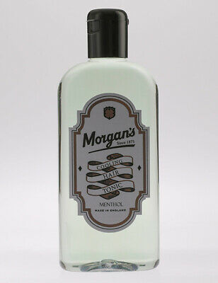 Morgans Cooling Hair Tonic Menthol Barber Mens Styling Haircare 250ml Bottle