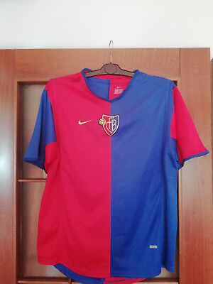 FC BASEL 1893 Nike Home Jersey Shirt Season 2002/2003