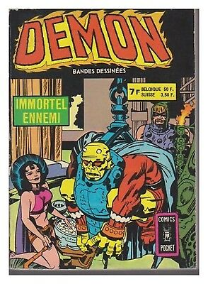 Demon Album N° 3212 N° 7 / 8 Comics Pocket 1978 Be+