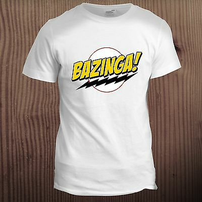 Big Bang Theory Inspired Bazinga Sheldon Christmas Xmas Gift Present T Shirt