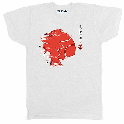 CHINESE JAPANESE RETRO ENZO VINTAGE WARRIOR SAMURAI MARTIAL ARTS KUNG FU T Shirt