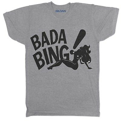 Bada Bing Satriale's Sopranos Movie Film Tv Crime Series Mafia Fbi Drama T Shirt