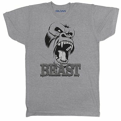 UFC MMA GYM BODYBUILDING MOTIVATION GREY WORKOUT FITNESS TRAINING MENS 2 T Shirt