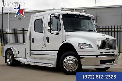 2013 Freightliner M2 106 Sport Chassis Clean Carfax Warranty 2013 White Sport Chassis Clean Carfax Warranty!