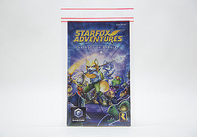Manual / Mode d'Emploi Star Fox Adventures (GC) - Mint / Comme Neuf
