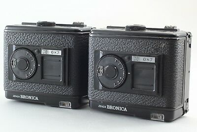 Zenza Bronica Film Back Two of 220 6x7 Film Back F/S *Exc+++++* From JAPAN #123