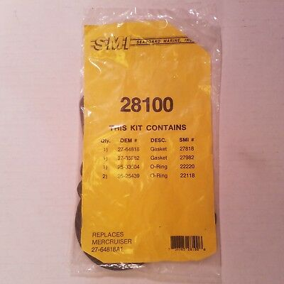 SMI 28100 Mercruiser 27-64818A1 replacement seal kit Seaboard Marine Inc