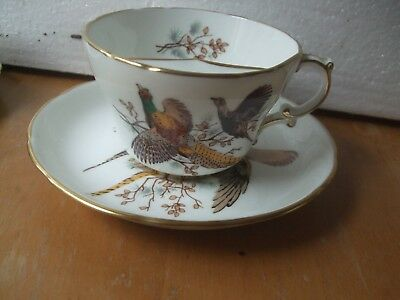 Hammersley  Moustache  Cup And Saucer