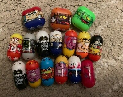 Moose Mighty Beanz Bundle Incl Rare Square Beans Special Editions Etc