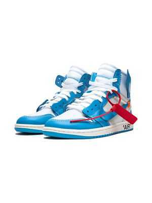 new concept 60a23 88c93 OFF WHITE X Nike Air Jordan 1 UNC Blue