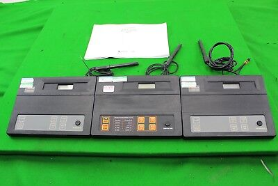 Job Lot of 3 Conductivity Meters Hanna HI8819, Whatman CDM320 Digital + Probes