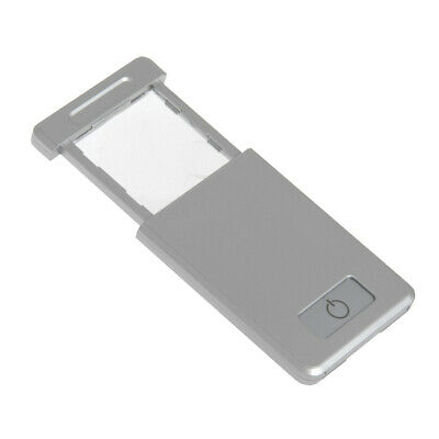 Pocket Mini Magnifier Magnifying Glass w/LED Light for Reading Travel