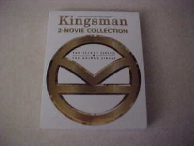 Kingsman 2-Movie Collection (Blu-ray+DVD) NEVER PLAYED - MINT cndt