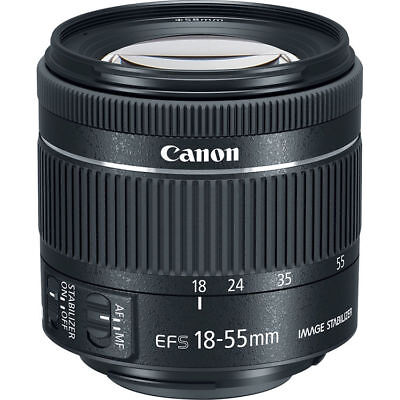 NEW Canon EF-S 18-55mm f/4-5.6 IS STM Lens - UK NEXT DAY DELIVERY