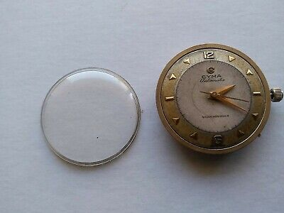 Swiss vintage  CYMA R.420 automatic watch movement for parts or repair, working