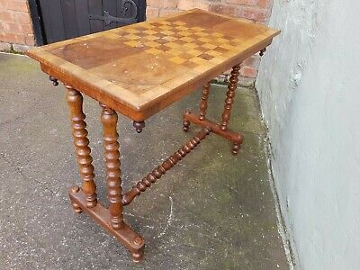 Antique Mahogany Games/Hall/Side Table