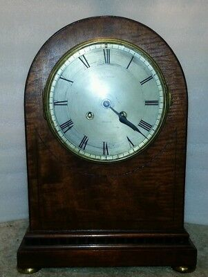 Antique bracket / mantle clock mappin & webb.