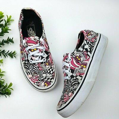 da2fe03956 Disney x Vans Alice in Wonderland Cheshire Cat Sneakers Shoes Women s 5 Men  3.5