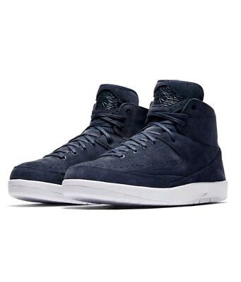 new product c4f02 50d2b NIKE AIR JORDAN 2 Retro Deconstructed Size 10 Thunder Blue White 897521-402