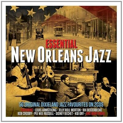 ESSENTIAL NEW ORLEANS JAZZ (Louis Armstrong , Eddie Condon,Bob Crosby) 2 CD NEUF