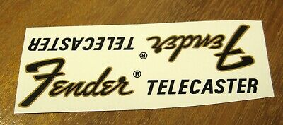 1969 Fender Telecaster Decal Headstock Waterslide Decals Vintage Guitar 1975