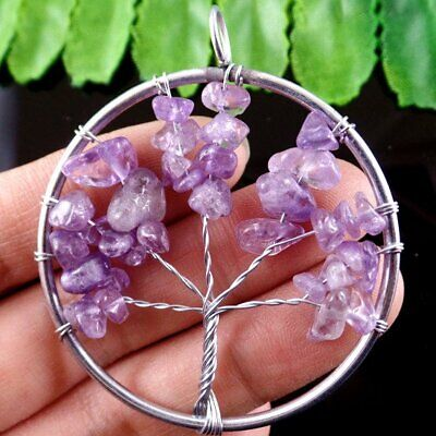 D844 The Tree Of The Life Pendant Bead 50*7mm