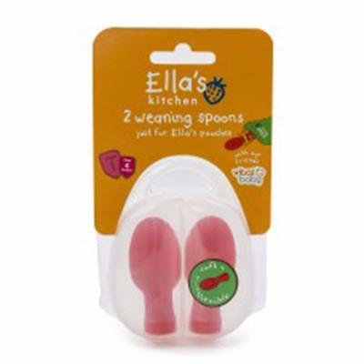 Vital Baby Ella's Kitchen 2Pk Spoon Tips-Pouch Spoons