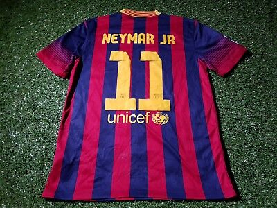 the latest e8128 36e01 FCB BARCELONA LA liga spain football medium mans neymar junior no11 home  jersey