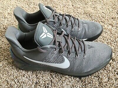 new product 59ff8 bc063 Nike Kobe A.D. Ruthless Precision AD Premium Cool Grey Black 852425-010 Size  11