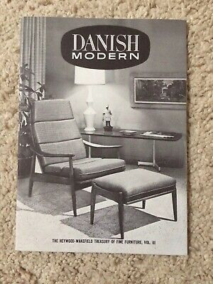 1961 HEYWOOD WAKEFIELD Mid Century Modern Danish Furniture ...